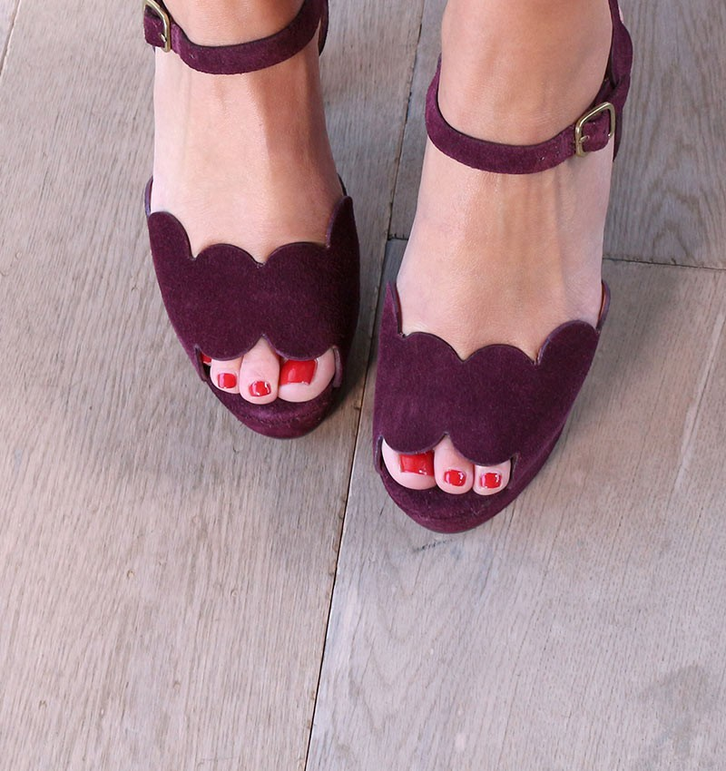 sandals-red-xevo-bordeaux