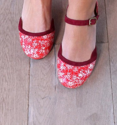 TROMPETA RED CHiE MIHARA zapatos