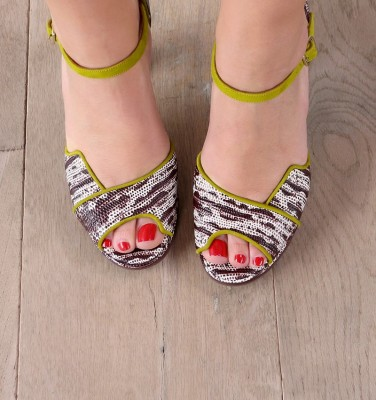 FAN CURRY CHiE MIHARA sandals