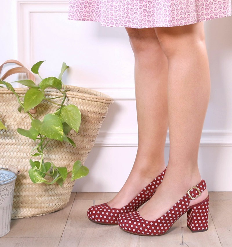 KANTIA RED CHiE MIHARA shoes