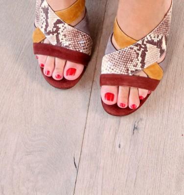 UNI TERRA TESTA CHiE MIHARA sandals
