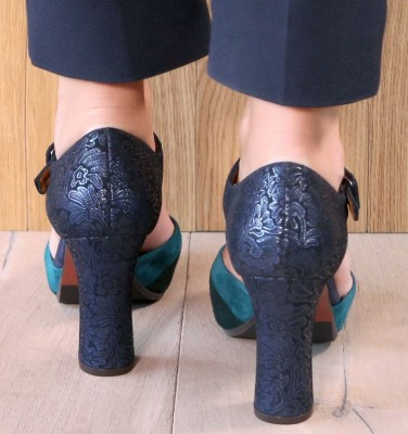 DELUXE NAVY CHiE MIHARA zapatos