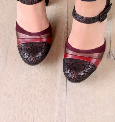 DELUXE GRAPE CHiE MIHARA zapatos
