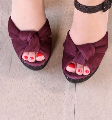 BABEL GRAPE CHiE MIHARA sandalias