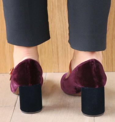 MOSSA GRAPE CHiE MIHARA chaussures