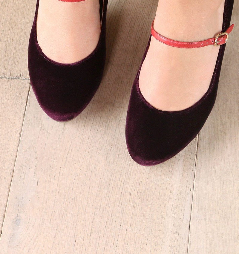 MOSSA GRAPE CHiE MIHARA zapatos