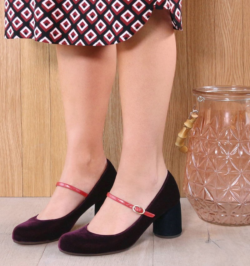 MOSSA GRAPE CHiE MIHARA zapatos