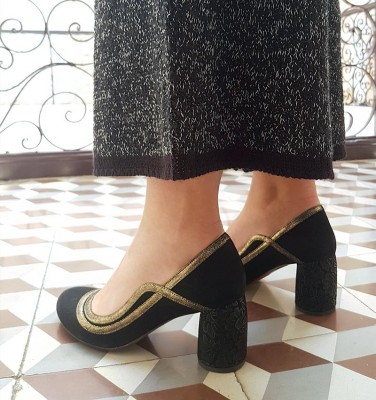 MOMMY BLACK CHiE MIHARA zapatos