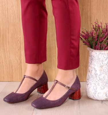 TURNOUT GRAPE CHiE MIHARA shoes