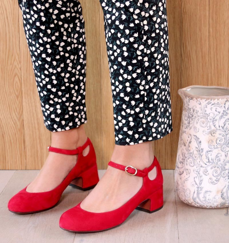URBE RED CHiE MIHARA zapatos
