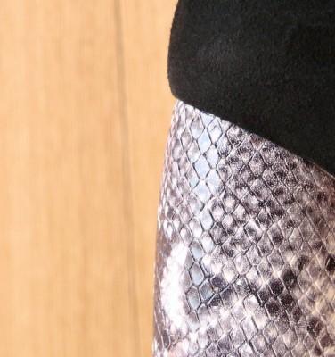 SANJAN BLACK CHiE MIHARA zapatos