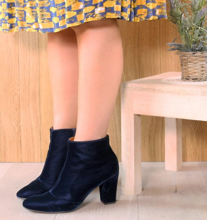 HIBO NAVY CHiE MIHARA boots