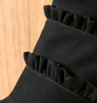 KAFTAN BLACK CHiE MIHARA botas
