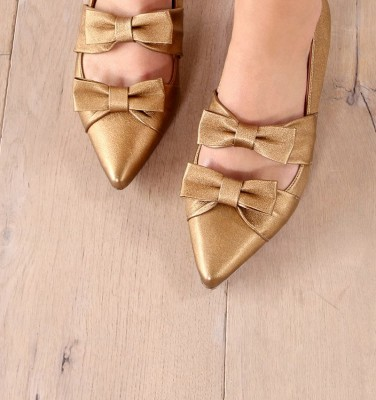 SIAN GOLD CHiE zapatos