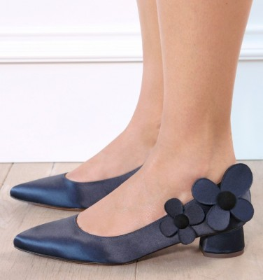 SAMSARA NAVY CHiE zapatos