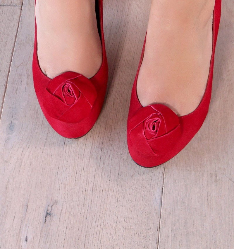 HIPPY RED CHiE zapatos