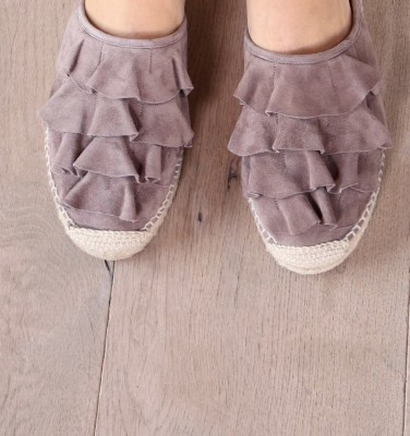 PLEITA TAUPE GREY CHiE MIHARA zapatos