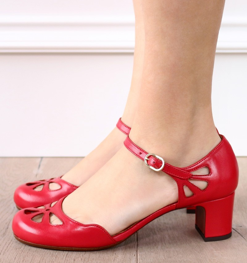 SE-TRULA RED CHiE MIHARA zapatos