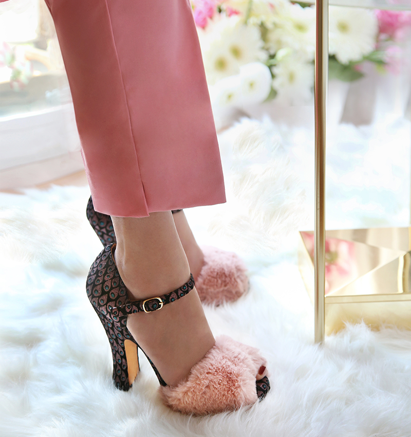 COLLETTE PINK CHiE zapatos
