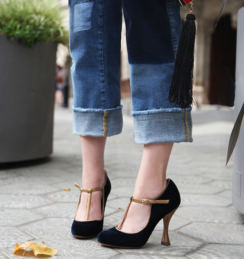 GLAI NAVY CHiE zapatos