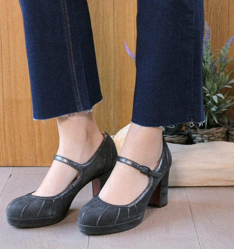 ANIST GREY CHiE MIHARA zapatos