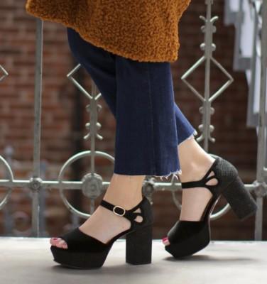 DO-BASILIA BLACK CHiE MIHARA zapatos