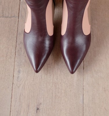 LUPE GOYA GRAPE CHiE MIHARA boots