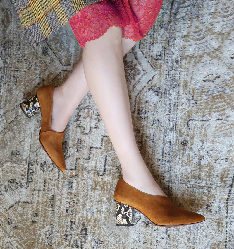 LOA COGNAC CHiE MIHARA chaussures