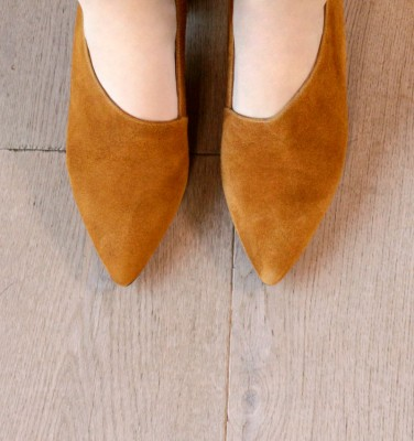 LOA COGNAC CHiE MIHARA zapatos
