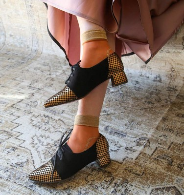 ROLY BRONZE CHiE MIHARA zapatos