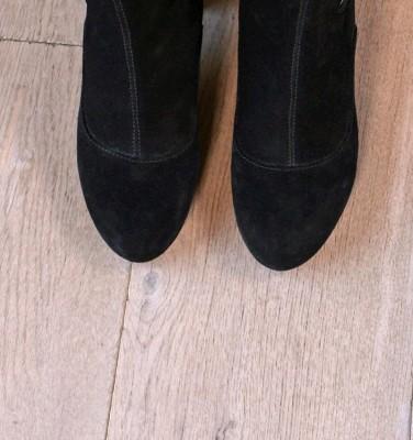 MODRA BLACK CHiE MIHARA botas