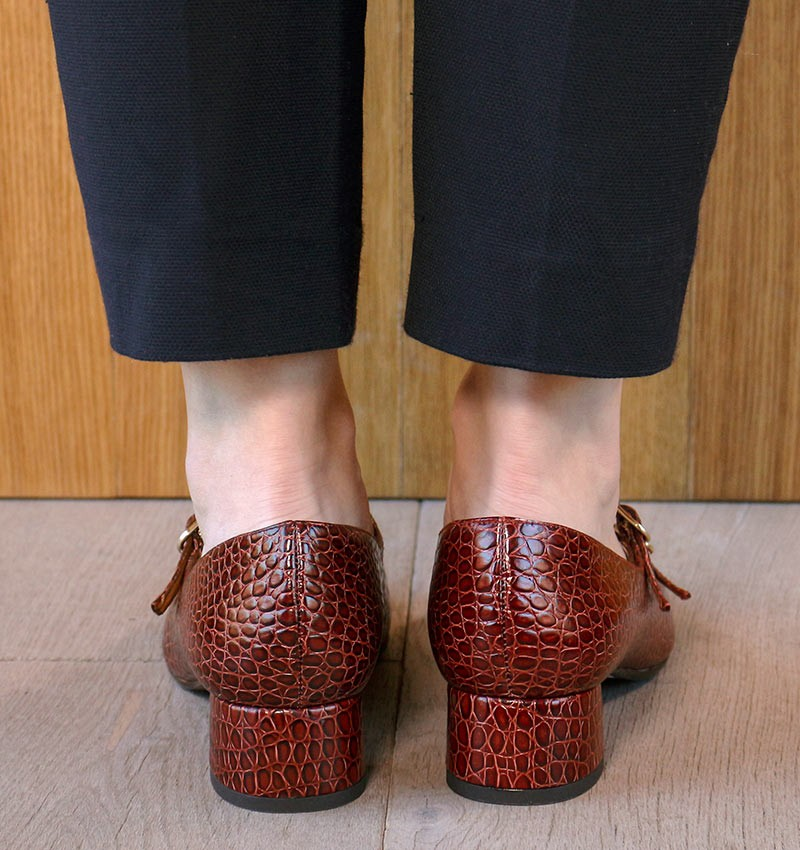 RUTA REDDISH BROWN CHiE MIHARA zapatos