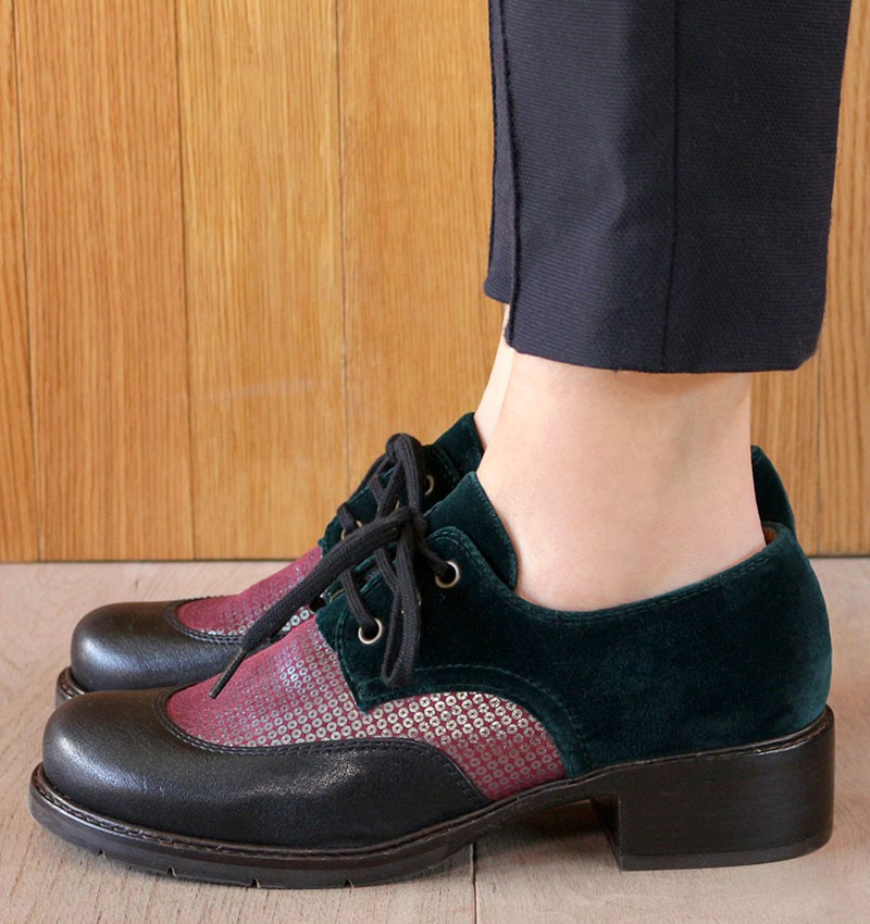 XENIA BLACK CHiE MIHARA shoes