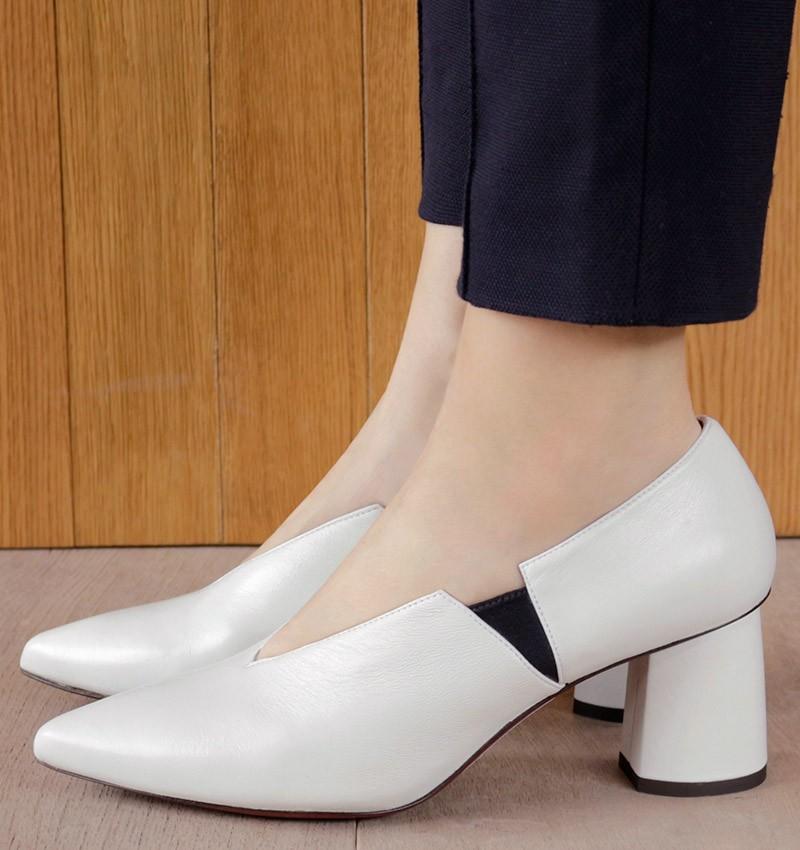LUMIER WHITE CHiE MIHARA zapatos