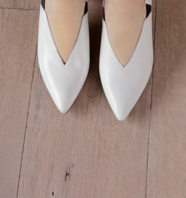 LUMIER WHITE CHiE MIHARA shoes