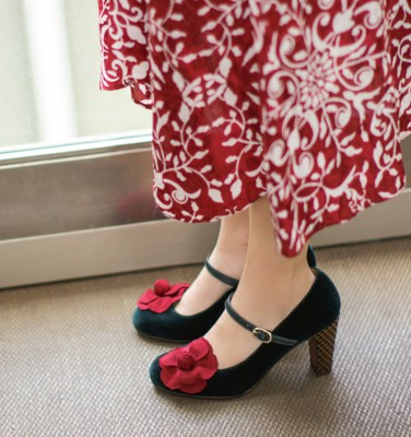 KYLIA GREEN CHiE MIHARA zapatos