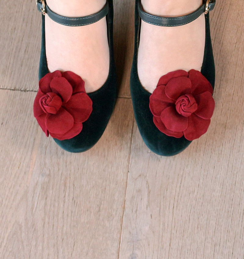 KYLIA GREEN CHiE MIHARA shoes