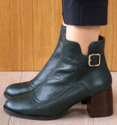 OR-OMAYO GREEN CHiE MIHARA boots