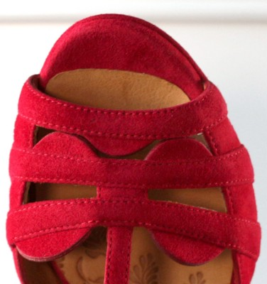 ALOE RED CHiE MIHARA sandals