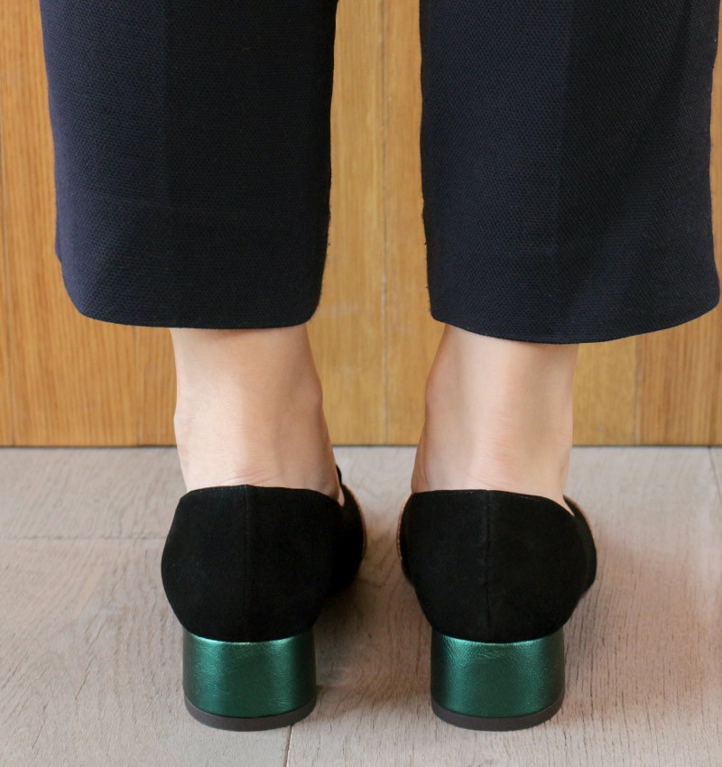 ROZ GREEN CHiE MIHARA zapatos