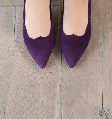 LOYAL VIOLET CHiE zapatos