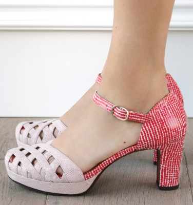 NO-IRMA RED CHiE MIHARA shoes