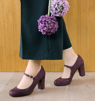 KAZUKO GRAPE CHiE MIHARA zapatos