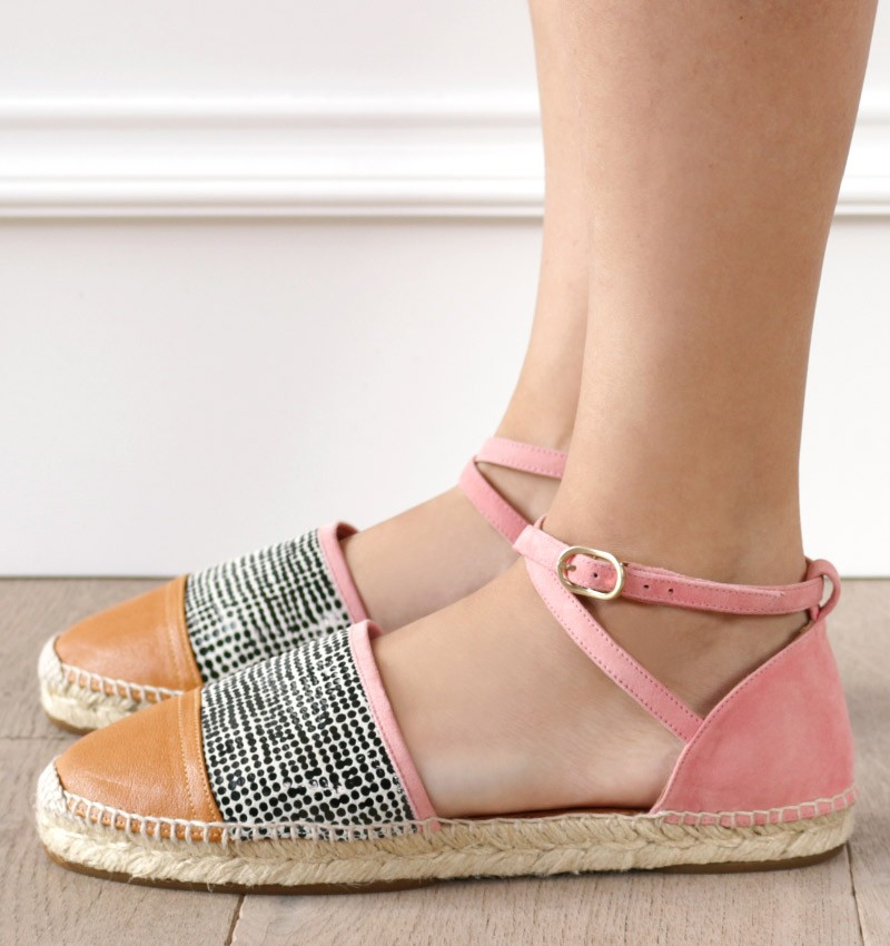 PRISSY OCRE CHiE MIHARA zapatos