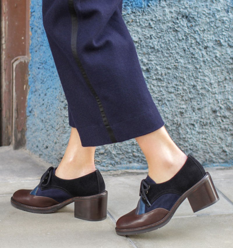 ODET BROWN CHiE MIHARA zapatos