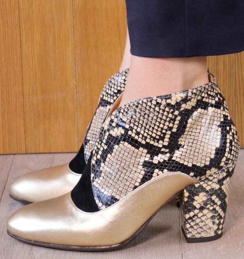 ELGI GOLD CHiE MIHARA botas