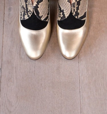 ELGI GOLD CHiE MIHARA boots