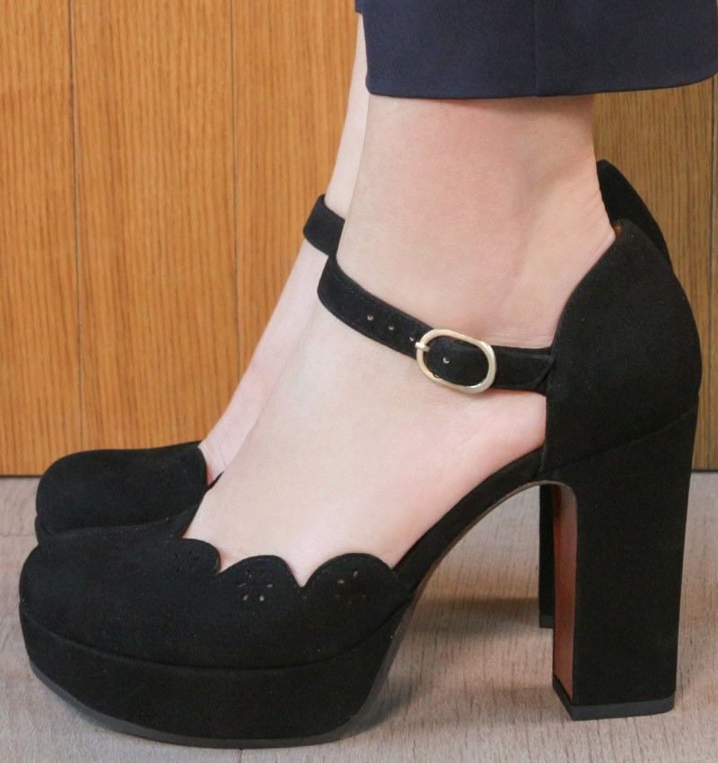 BETTY BLACK CHiE MIHARA zapatos