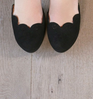 BETTY BLACK CHiE MIHARA shoes