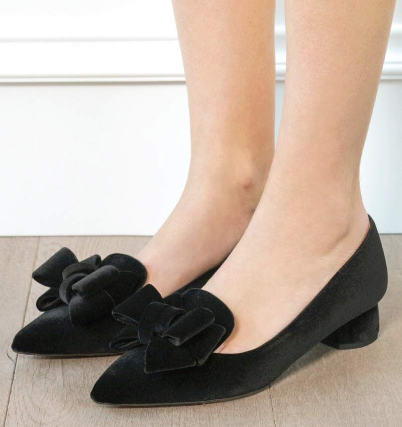 SALMA BLACK CHiE zapatos